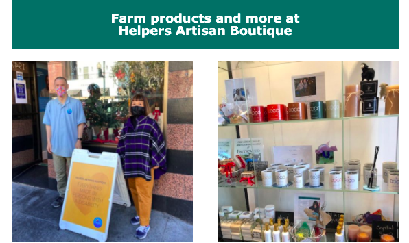 Common Roots Farm Products at Helpers Artisan Boutique